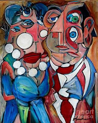Painting - Saturday Night by John Stillmunks