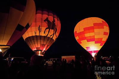 Photograph - Saturday Night Lights by Jon Burch Photography
