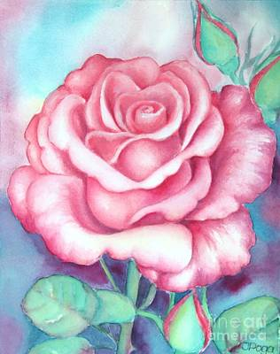 Painting - Saturday Rose by Inese Poga