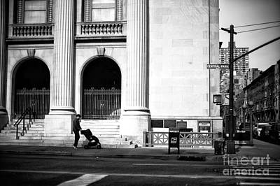 Photograph - Saturday Stroll Along Central Park West by John Rizzuto