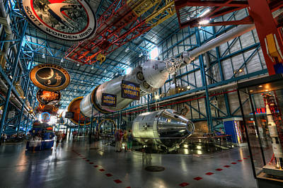 Photograph - Saturn 5 by Brad Granger