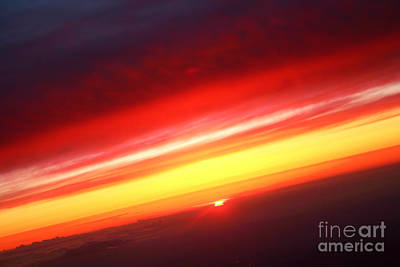 Photograph - Saturn On Earth Sunset by James BO Insogna