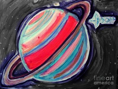 Painting - Saturn by Stanley Morganstein