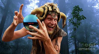 Photograph - Satyr Magical Beast by Bob Christopher