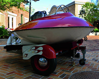 Photograph - Saucer Boat by David Lee Thompson