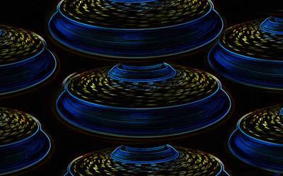 Saucers Print by David Lee Thompson