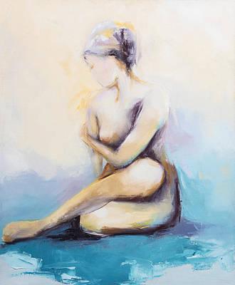 Painting - Saudade 1 by Nicole Daniah Sidonie