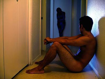Male Nude Photograph - Saudade by Raul Medina