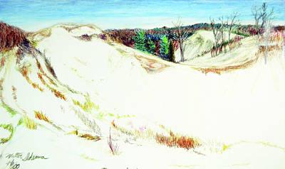 Saugatuck Dunes Art Print
