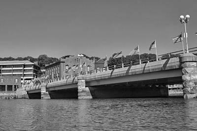 Saugatuck River Bridge Westport Ct Art Print