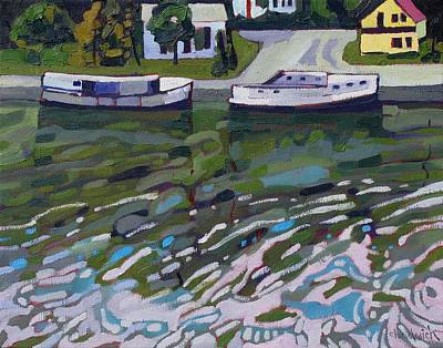 Beaver Lake Painting - Saugeen Shores by Phil Chadwick
