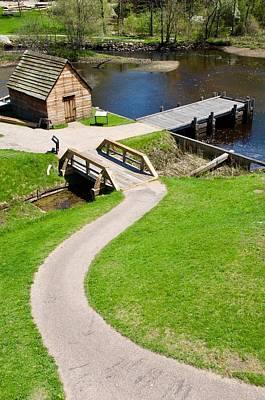 Photograph - Saugus River Iron Works by Caroline Stella