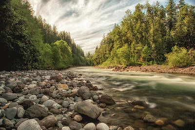 Photograph - Sauk River by Charlie Duncan