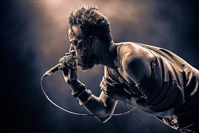 Saul Williams Art Print by [zoz]