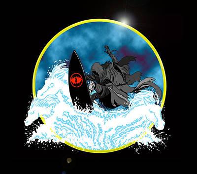 Sauron Jon Art Print