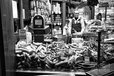 Photograph - Sausages In Munich by John Rizzuto