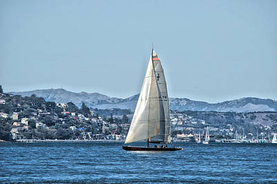 Photograph - Sausalito Blues by Spencer Hughes