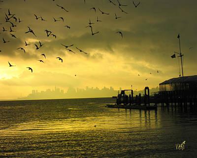 Photograph - Sausalito Morning by Vari Buendia