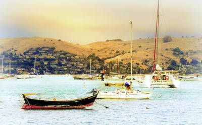 Photograph - Sausalito Sailboats by Laura DAddona