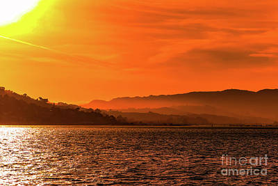 Sausalito Photograph - Sausalito Sunset by Claudia M Photography