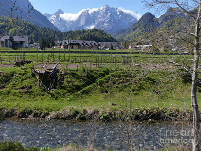 Photograph - Sava Dolinka River- Kranjska Gora by Phil Banks