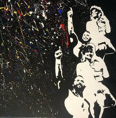 Randy Savage Painting - Savage Love by Ricardo Freitas