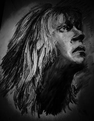 Def Leppard Drawing - Savage by Luisa Gatti