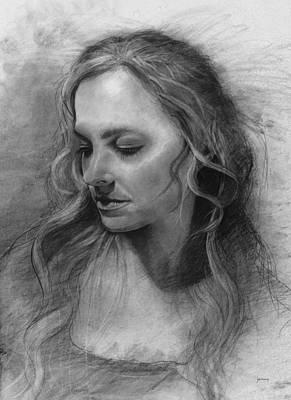 Savanah Portrait Original by Jonathan Haug