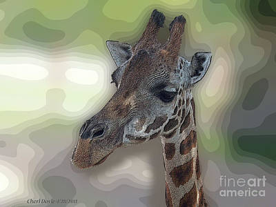 Digital Art - Savanna Soul by Cheri Doyle