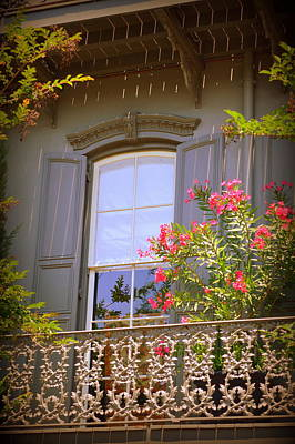 Savannah Balconies II Art Print by Linda Covino