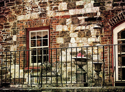 Photograph - Savannah Balcony by JAMART Photography