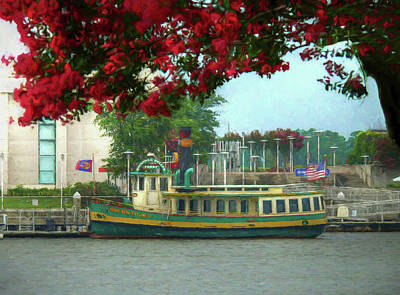 Savannah Belles Ferry - The Susie King Taylor Art Print