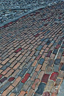 Photograph - Savannah Brick Walkway by Carol Groenen