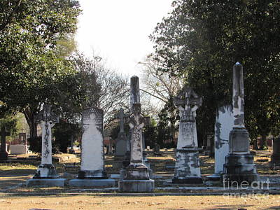 Photograph - Southern Cemetery by Cindy Fleener