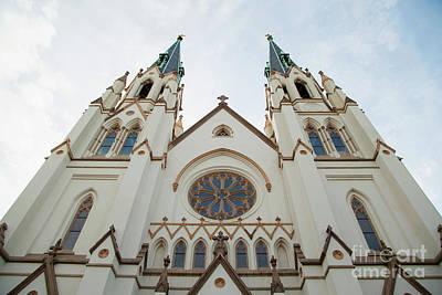 Photograph - Savannah Church by Heather Green