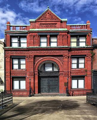 Photograph - Savannah Cotton Exchange Building by Dave Mills