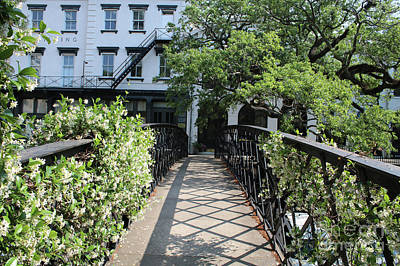Photograph - Savannah Factors Walk Bridge by Carol Groenen