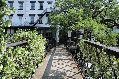 Photograph - Savannah Factors Walk Bridge by Carol Groenen