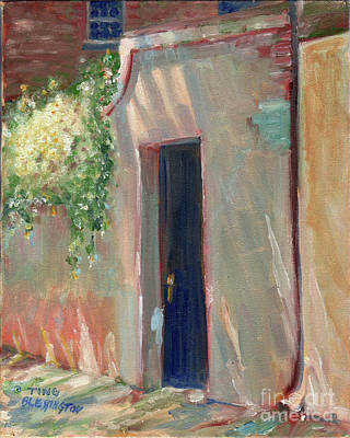 Painting - Savannah Garden Gate by Doris Blessington