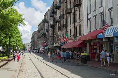 Vincent Van Gogh - Savannah Georgia Old Street by Ken Figurski