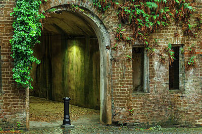 Photograph - Savannah Haunted Tunnels by Steven Bateson