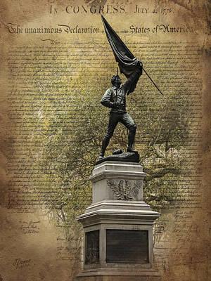 Photograph - Savannah Hero by Jim Ziemer