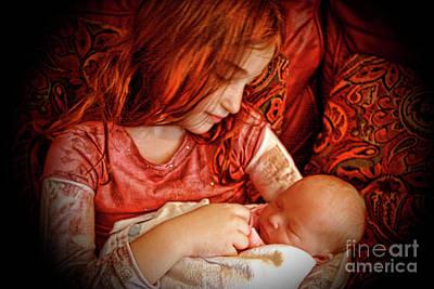 Photograph - Savannah Hope And Sarah Faith 4828lg by Doug Berry