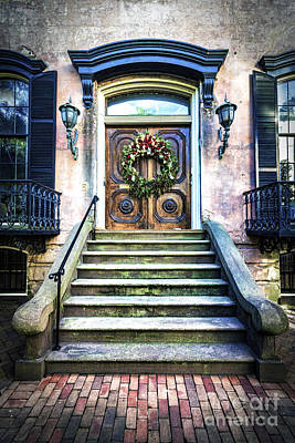 Photograph - Savannah House 5 by Anthony Baatz
