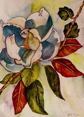 Painting - Savannah Magnolia II by Lil Taylor