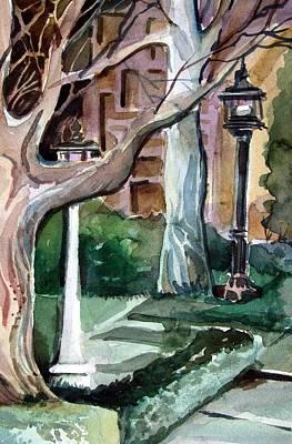 Savannah Park Art Print by Mindy Newman