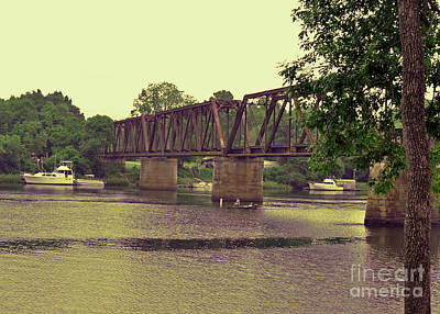 Photograph - Savannah River In Augusta by Lydia Holly