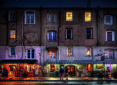 Photograph - Savannah River Street by Mark Andrew Thomas
