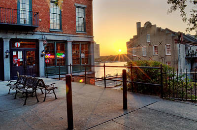 Photograph - Savannah River Sunrise by Greg Mimbs