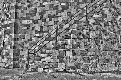 Photograph - Savannah River Walk Steps Hdr by Carol Groenen